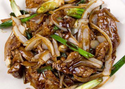 11 Mongolian Beef