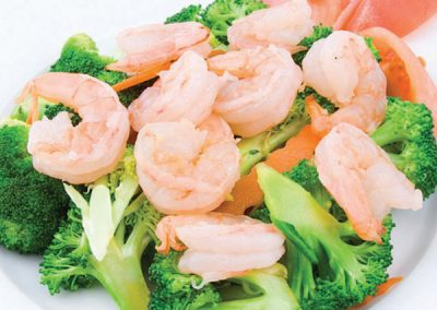 12 Shrimp Kow