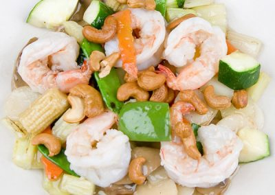 13 Shrimp with Cashew